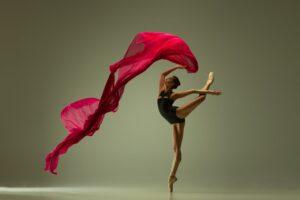 Ballet Dancer in a Pose