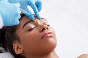 Botox Injection in an African American Woman