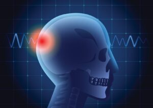 Pressure Point Indicator on Brain